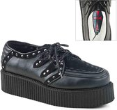 Demonia Creepers -38 Shoes- V-CREEPER-535 US 6 Zwart
