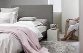HnL Living Wafel - Plaid - Katoen - 180x 260 cm - Rosewater