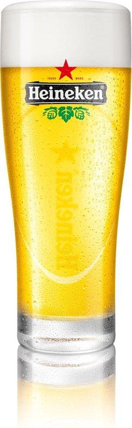 Heineken Ellipse Bierglas -  0.25 l - 6 stuks