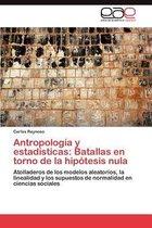 Antropologia y Estadisticas