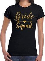 Wonderbaarlijk bol.com | Vrijgezellenfeest Bride to be Cupido goud glitter t YZ-58