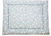 Briljant Baby Spots boxkleed - 80x100 cm - stone green