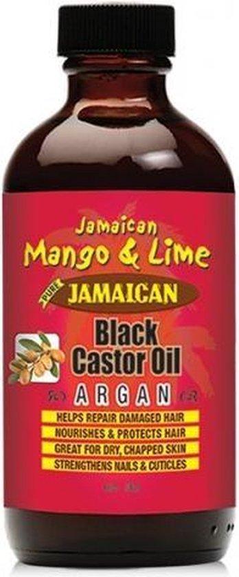 Jamaican Mango & Lime  Black Castor Oil Argan 118 ml
