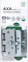 AXA smart veiligheidsscharnier   SKG ***   easyfix   89 x 89 mm   ronde hoeken   3 STUKS