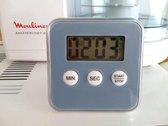 Magnetische Kookwekker Inclusief Standaard + Batterij | Digitale Kook Wekker | Kookwekker | Grijs