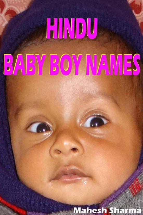 Boek cover Hindu Baby Boy Names van Mahesh Dutt Sharma (Onbekend)