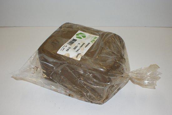 Afbeelding van Klei oefenklei grijs/bruin a 10 kg. speelgoed