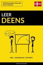 Leer Deens: Snel / Gemakkelijk / Efficiënt: 2000 Belangrijkste Woorden