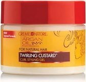 Creme of Nature - Argan Oil Twirling Custard Styling Gel 326 gr