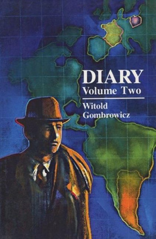 Boek cover Diary van Witold Gombrowicz (Paperback)