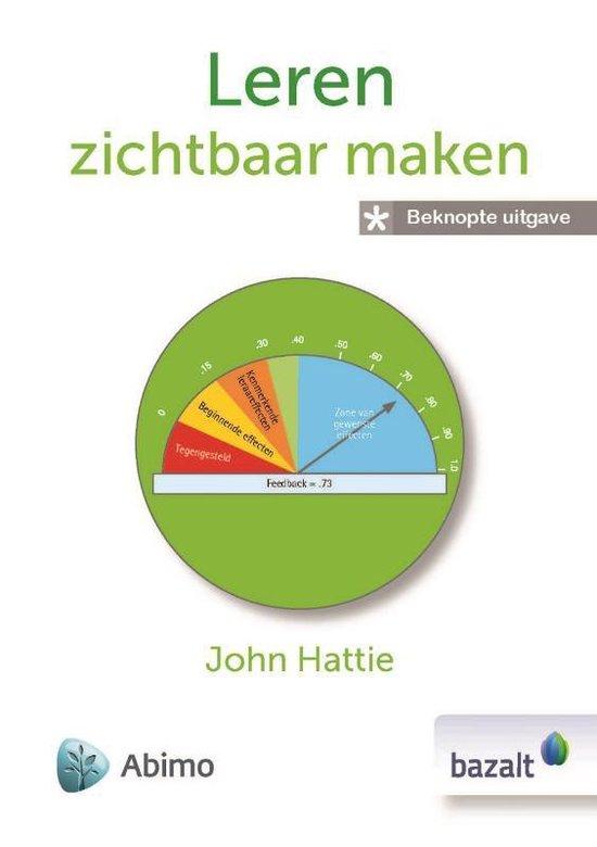 Leren zichtbaar maken (beknopte versie) - John Hattie |