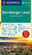 Nürnberger Land, Hersbrucker Alb 1:50 000