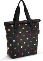 Reisenthel Fresh Lunchbag ISO L Koeltas Lunchtas - Polyester met aluminium voering - Maat L - 20 L - Dots Zwart;Multi Kleur