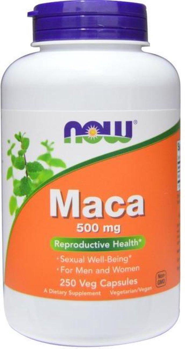 Maca 500 mg  - 250 Veggie Caps - Now Foods