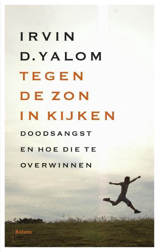 Boek cover Tegen de zon in kijken van Irvin D. Yalom (Paperback)