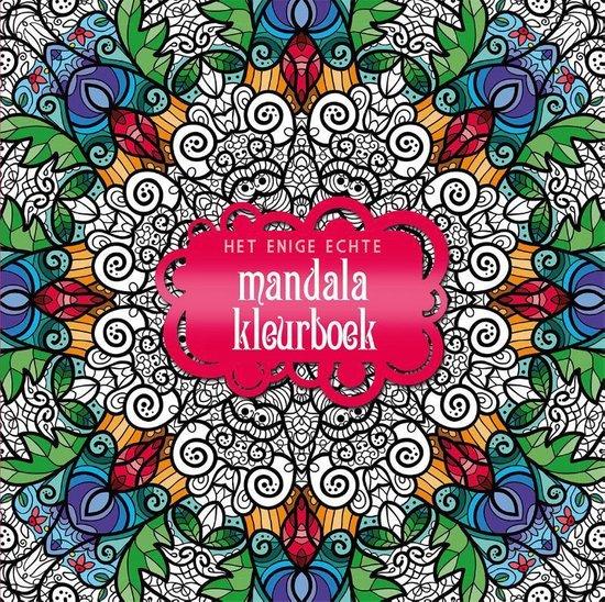 Boek cover Het enige echt mandala kleurboek van Diverse auteurs (Paperback)