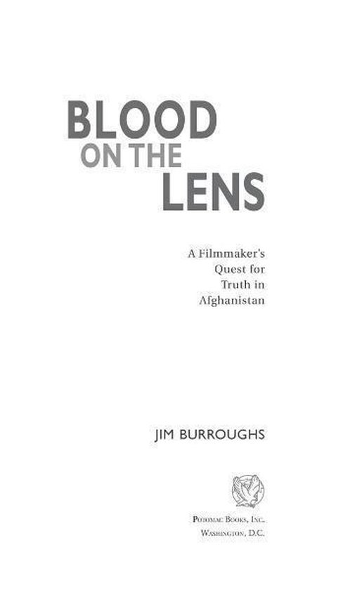 Blood on the Lens