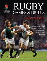 Boek cover Rugby Games & Drills van Rugby Football Union