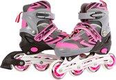 Inline Skates Roze/Grijs, maat 35-38