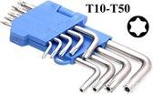 Stiftsleutelset Torx (9 stuks van T10-T50)