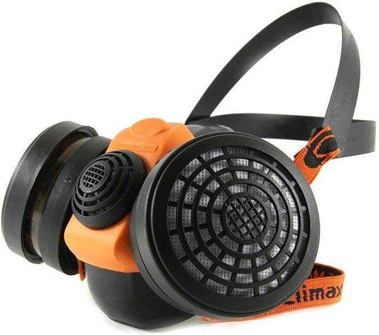 Climax Gasmasker - 756 - Incl P3 Filters - Halfgelaatsmasker