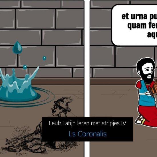 Leuk Latijn leren met stripjes IV - Ls Coronalis |