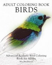 Adult Coloring Book Birds