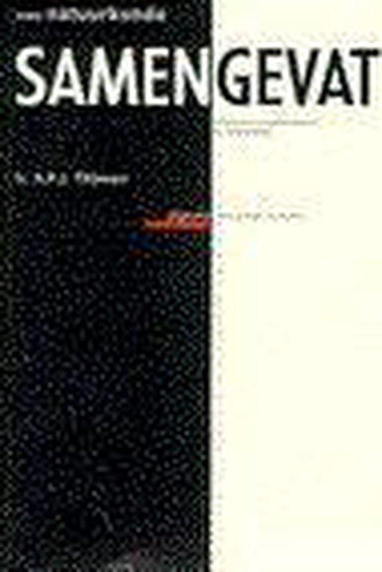 Boek cover Vwo Samengevat Natuurkunde van A.P.J. Thijssen (Paperback)