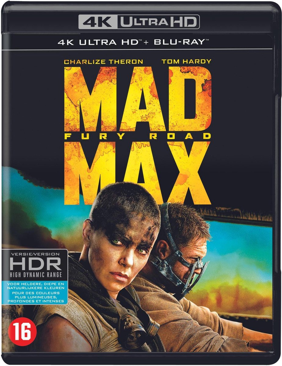 Mad Max: Fury Road (4k Ultra HD Blu-ray)-