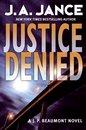 Omslag Justice Denied