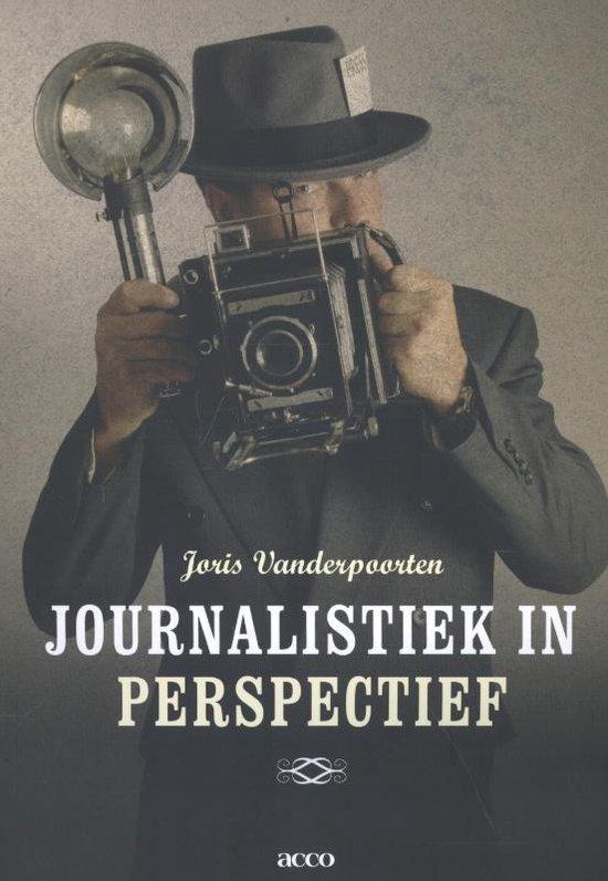 Journalistiek in perspectief - Joris Vanderpoorten |