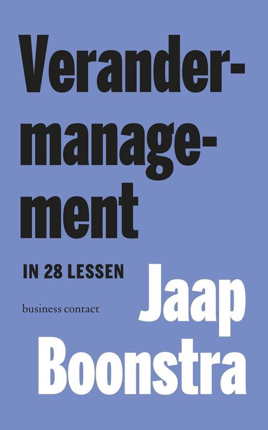 Boek cover Verandermanagement van Jaap Boonstra