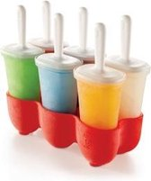 Koji Icelolly Pop Maker - Classic - Rood