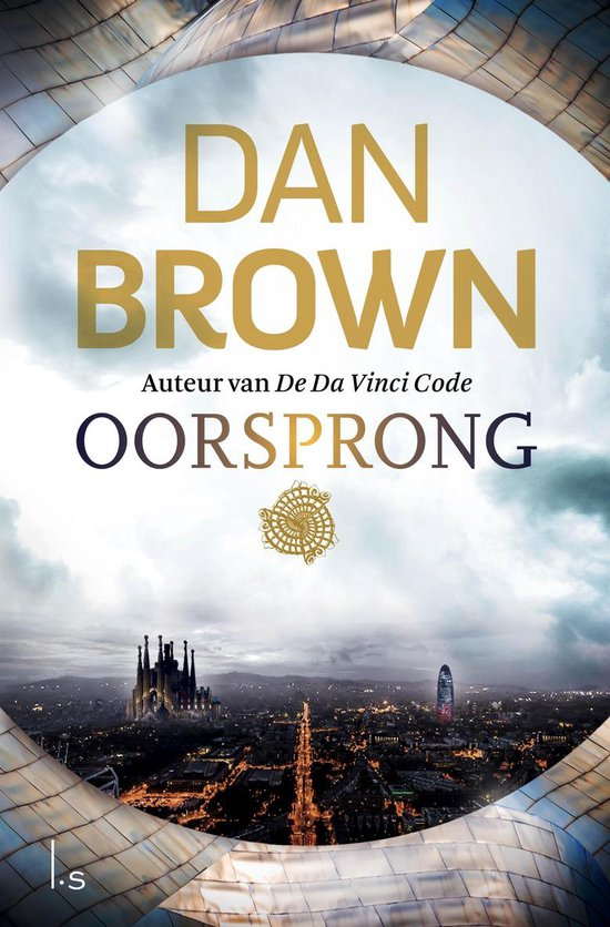 Boek cover Oorsprong van Dan Brown (Paperback)