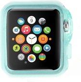 Apple Watch Sport 42mm Hoesje Lichtblauw (rubber/silicone)