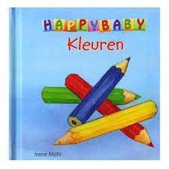 Happy Baby Kleuren - Kinderboek - Hardcover - 13 x 13 x 2cm - Mohr |