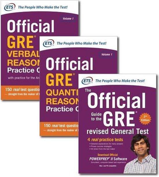Boek cover Official GRE Super Power Pack van Educational Testing Service (Onbekend)