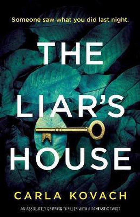 Boek cover The Liars House van Carla Kovach (Paperback)