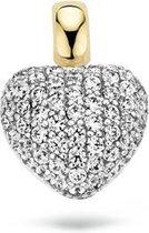 Blush Hanger 6068BZI -  Geel en Wit Goud (14Krt.) met Zirconia