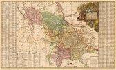 Historische Karte: Ämter Meissen, Nossen, Oschatz und Wurtzen, 1750 (Plano)