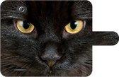 Sony Xperia E4 Uniek Design Hoesje Zwarte Kat