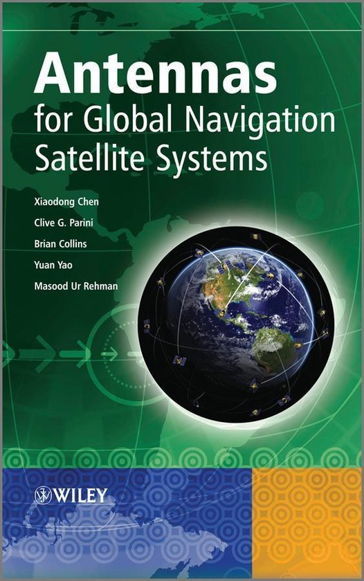 Boek cover Antennas for Global Navigation Satellite Systems van Xiaodong Chen (Onbekend)