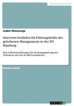 Interview-Leitfaden für Führungskräfte des gehobenen Managements in der FH Hamburg