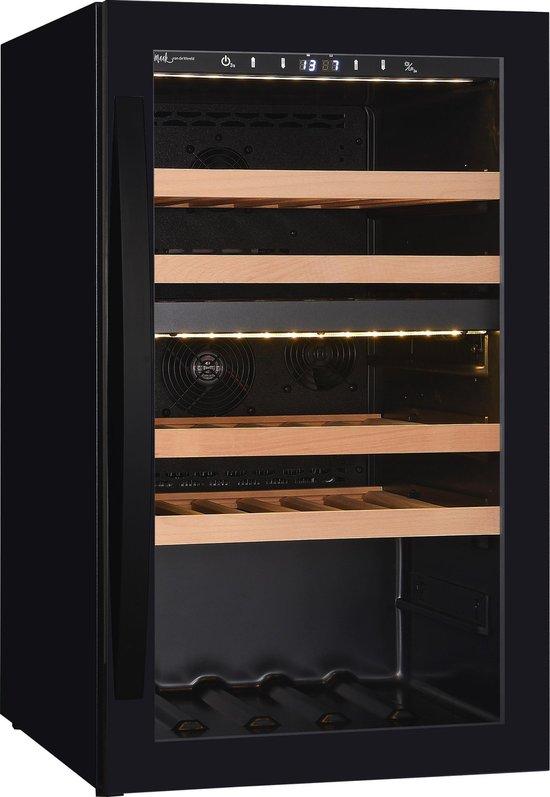 Koelkast: Wine Klima Excellence D40 wijnklimaatkast - 40 flessen - dubbele zone, van het merk Wine Klima