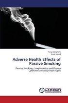 Boek cover Adverse Health Effects of Passive Smoking van Tarig Merghani