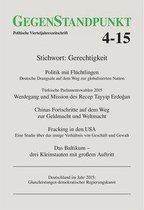 Boek cover GegenStandpunkt 4-15 van