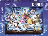 Ravensburger puzzel Disney's magische sprookjesboek - Legpuzzel - 1500 stukjes - Multicolor