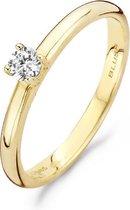 Blush Ring 1112YZI -  Geel Goud (14Krt.) met Zirconia