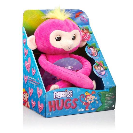 WoWee - Fingerlings HUGS Bella - Interactieve knuffel 40 cm