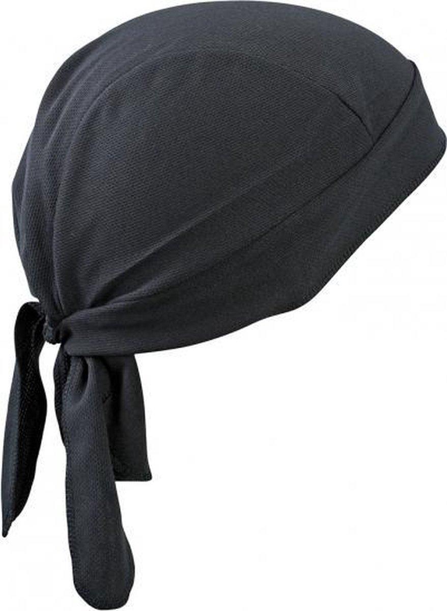 Myrtle Beach Sport Bandana Unisex - One Size - Zwart